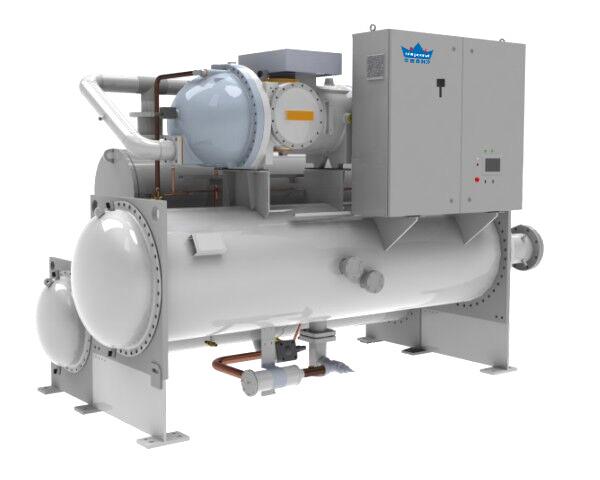 单机满液式螺杆水源热泵机组