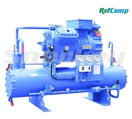 水冷活塞压缩冷凝机组WP4H025
